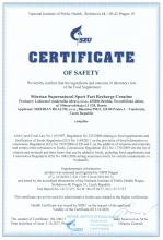 Certificate of safety<br>Fast Recharge Creatine Siberian Super Natural Sport. Fast Recharge Creatine, 200 g