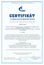 Certificate of safety (cz)<br>Baelen Amin Food supplement Baelen Amin. Herbal Tea, 25 filter bags