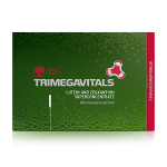 Food supplement Trimegavitals. Lutein and Zeaxanthin, 30 capsules 500102