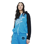 Sweatshirt for women (color: blue, size: M) 107028