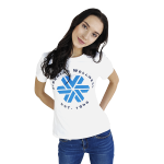 Siberian Wellness T-shirt for women (color: white, size: XS) 107018