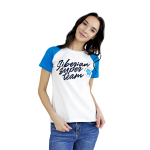 Siberian Super Team T-shirt for women (color: white, size: S) 107014
