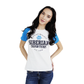 Siberian Super Team CLASSIC T-shirt for women (color: white, size: S)