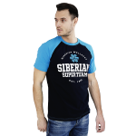 Siberian Super Team CLASSIC T-shirt for men (color: blue, size: M) 106910