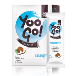 Food supplement with a sweetener Yoo Go! Shake it! COCONUT (3%), 175 g 500564